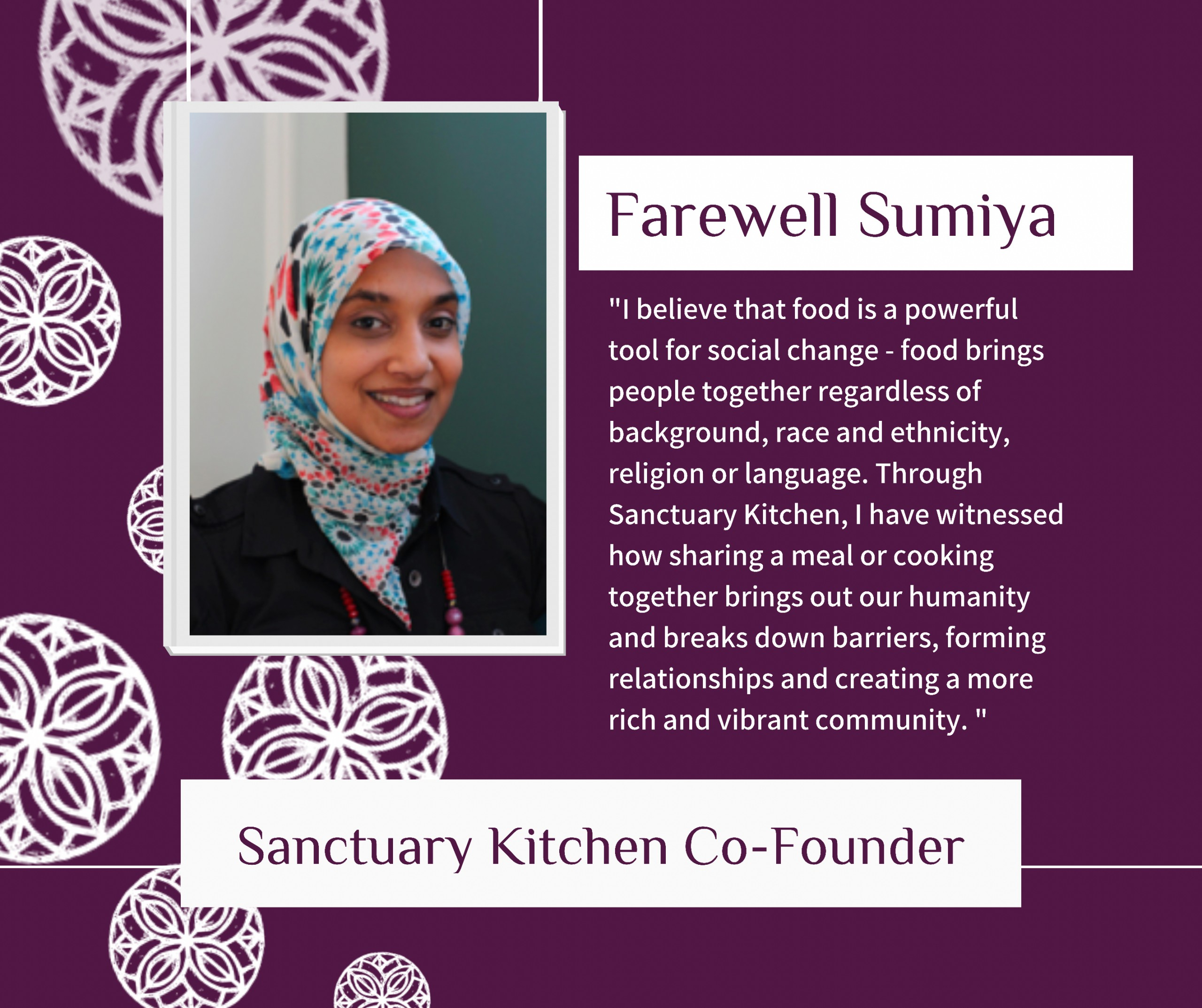 Farewell Sumiya!